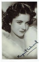 Margaret Lockwood Autograph Signed Photo